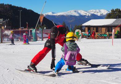 EL WORLD SNOW DAY AL JARDÍ DE NEU