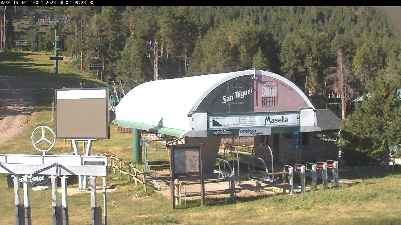 Webcam de Masella Jet (1.600m.)
