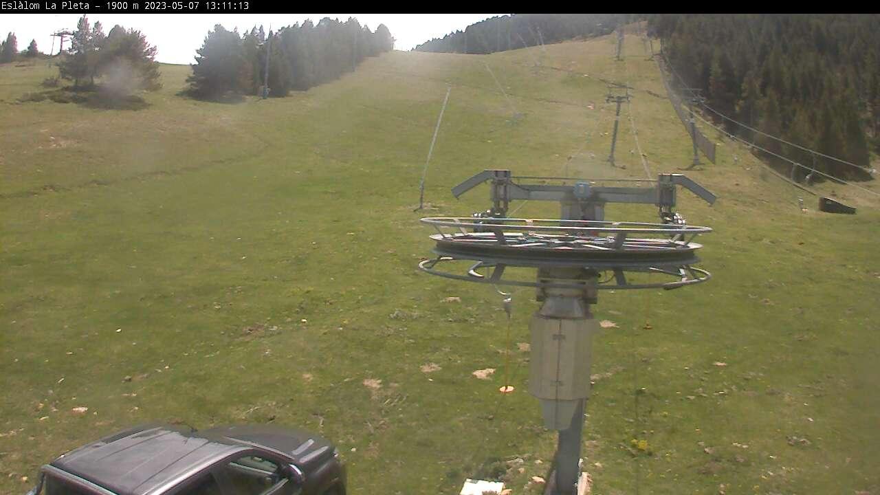 Webcam en La Pleta - Slalom, Masella (Pirineo Catalán)